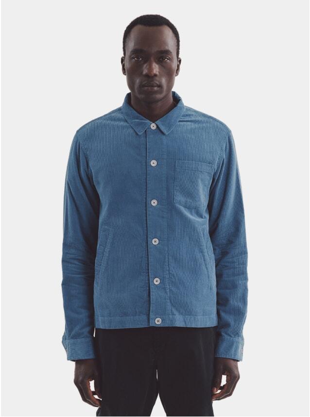 Blue Bowling Shirt