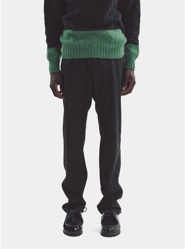 Charcoal Deja Vu Wool Trousers