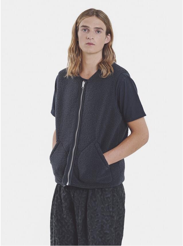 Charcoal / Navy Reversible Vest