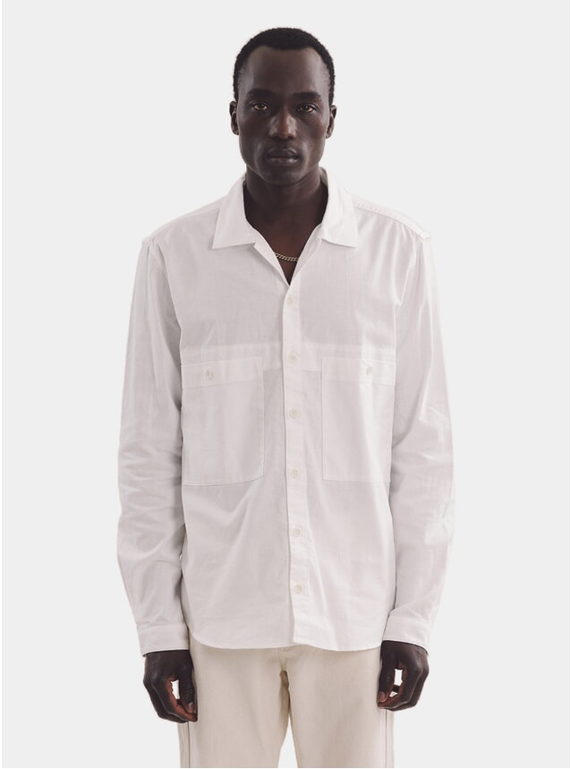 Ecru Doc Savage Shirt