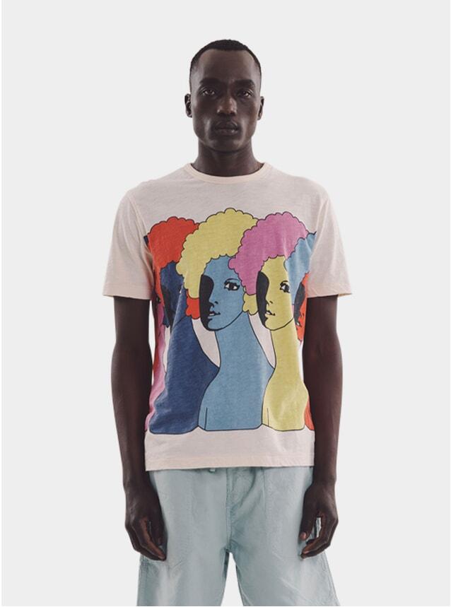 Ecru Heads T Shirt