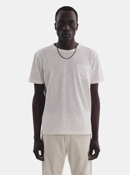Ecru Wild Ones Pocket T Shirt