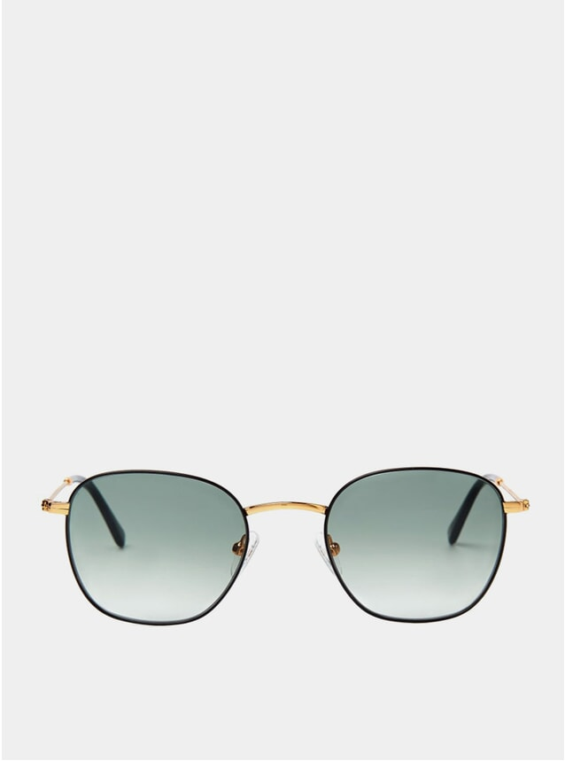 Gold / Black Ash Sunglasses