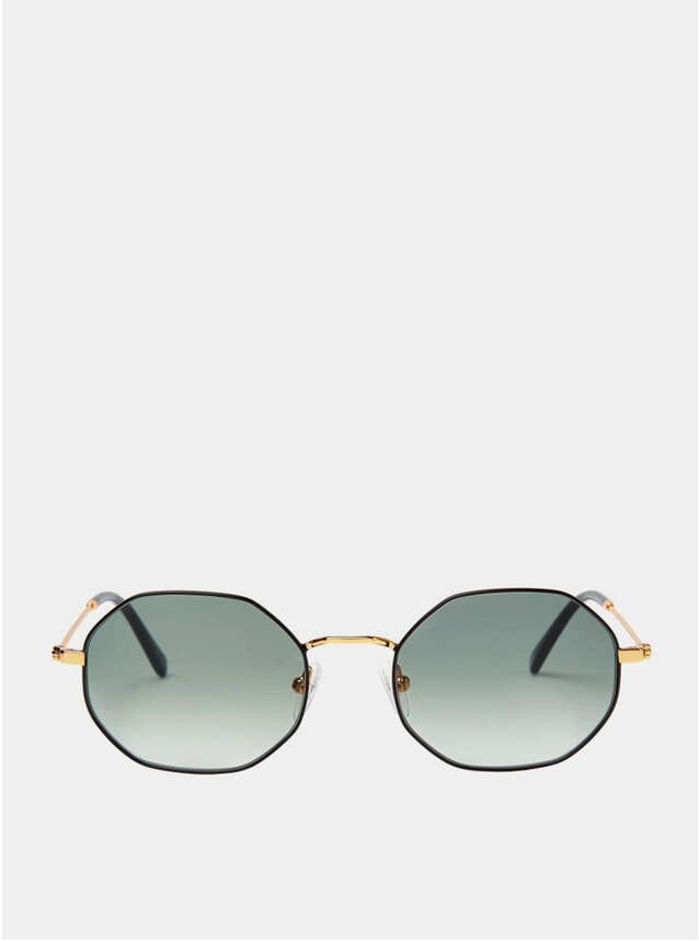 Gold / Black Orla Sunglasses