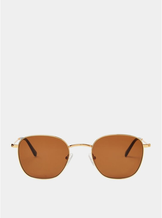 Gold / Orange Ash Sunglasses