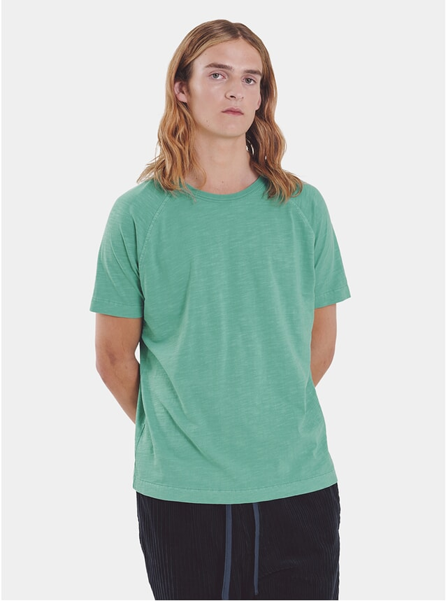 Green TV Raglan T Shirt