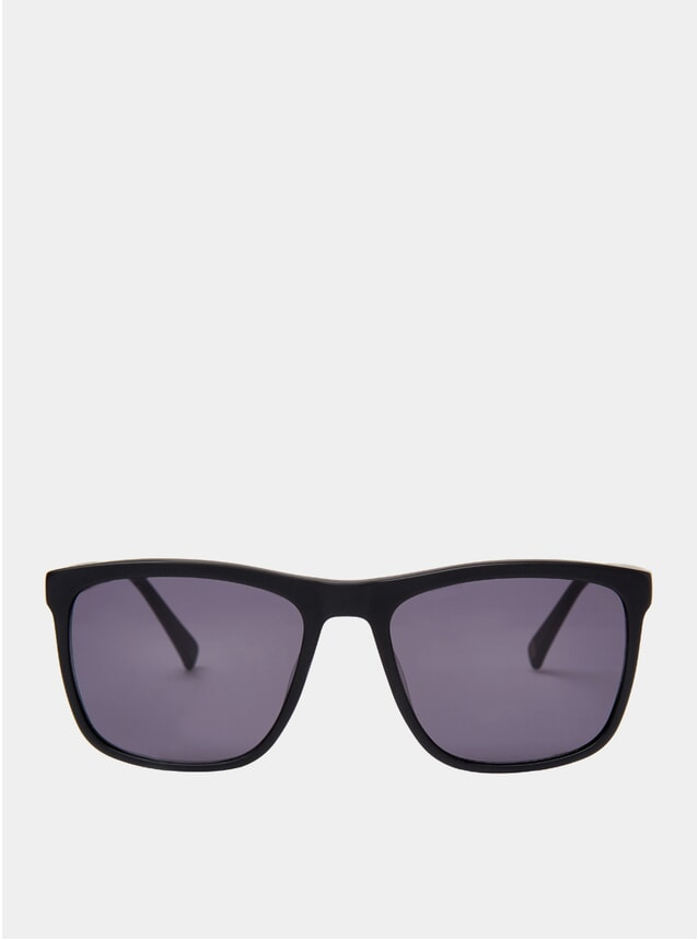 Matt Black Greg Sunglasses