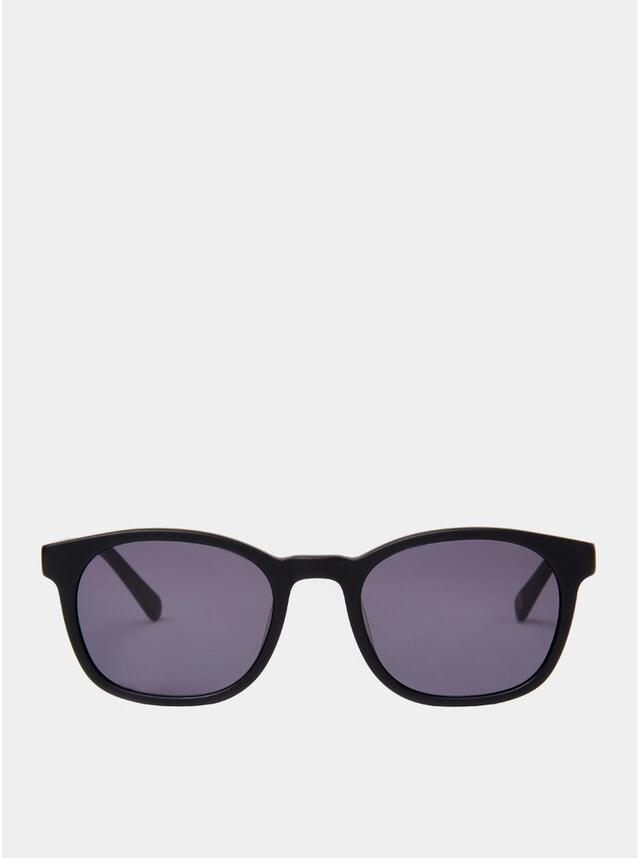 Matt Black Woody Sunglasses