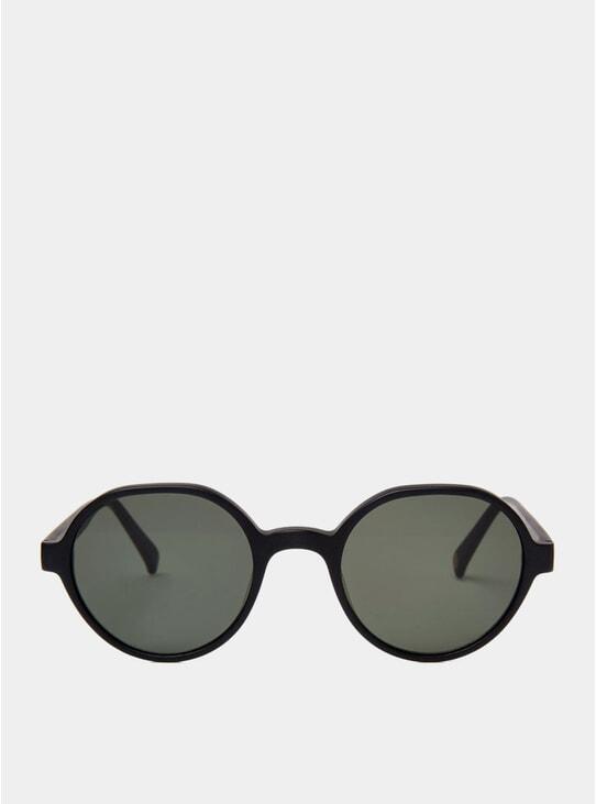 Matte Black Sigi Sunglasses
