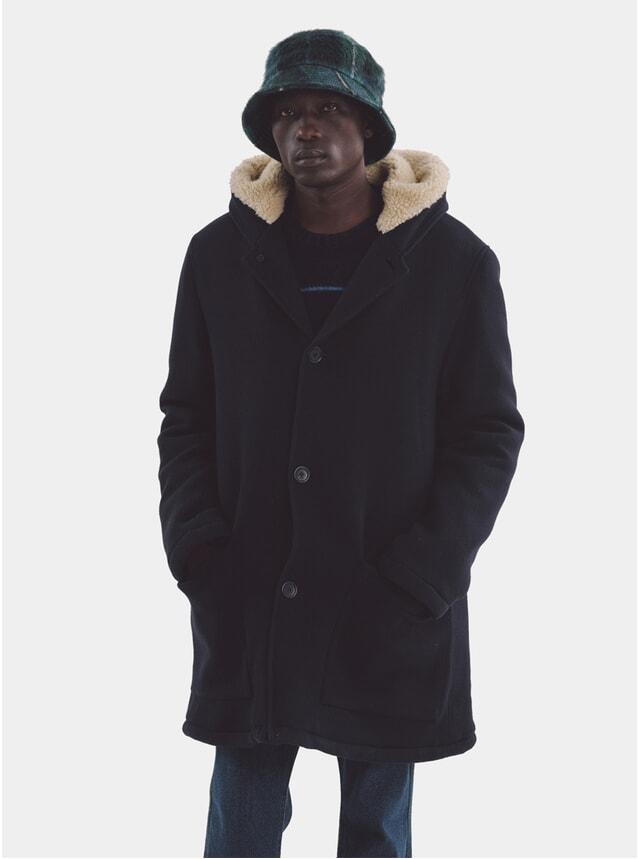 Navy Beat Generation Duffle Coat