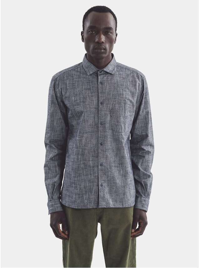 Navy Curtis Shirt