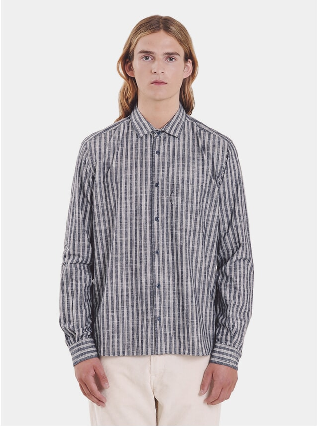 Navy / Ecru Curtis Shirt