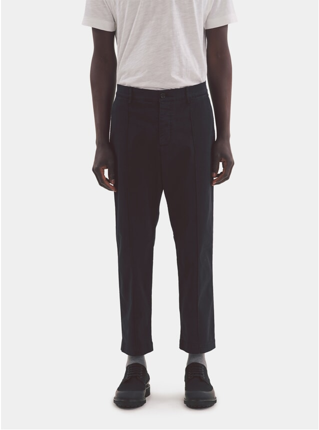 Navy Hand Me Down Trousers
