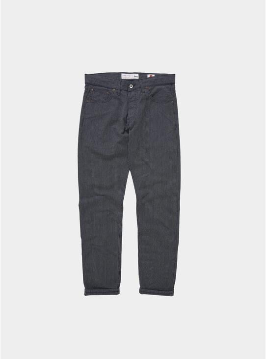 Navy Stripe Taper YMC X Hawksmill Jeans