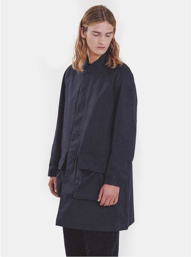 Navy Tally Ho Coat