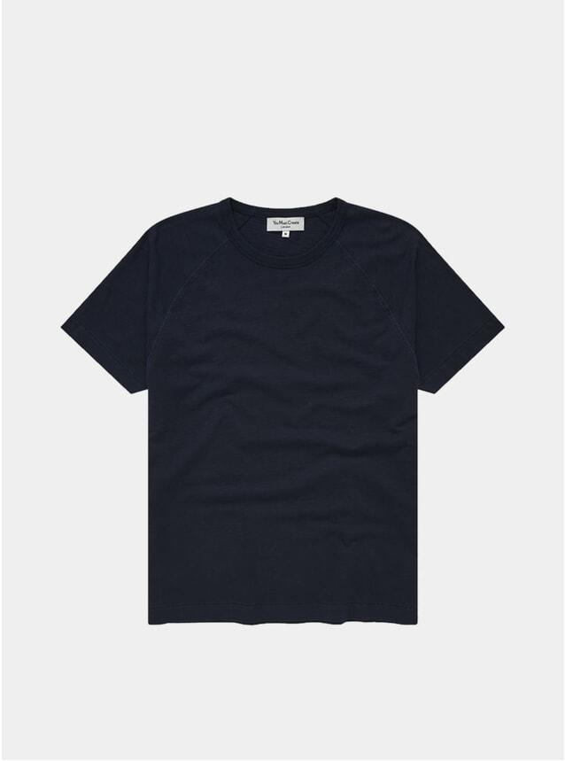 Navy TV Raglan T Shirt