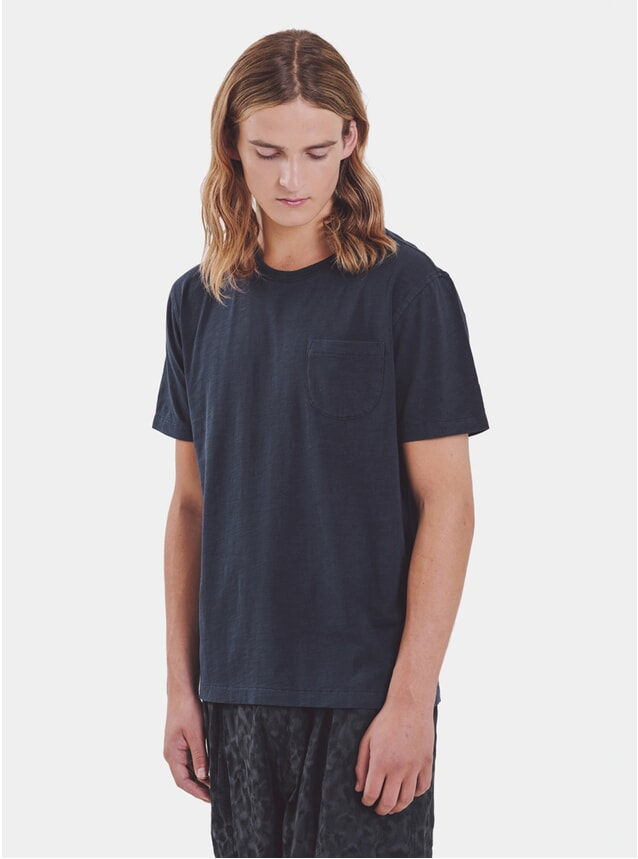 Navy Wild Ones Pocket T Shirt