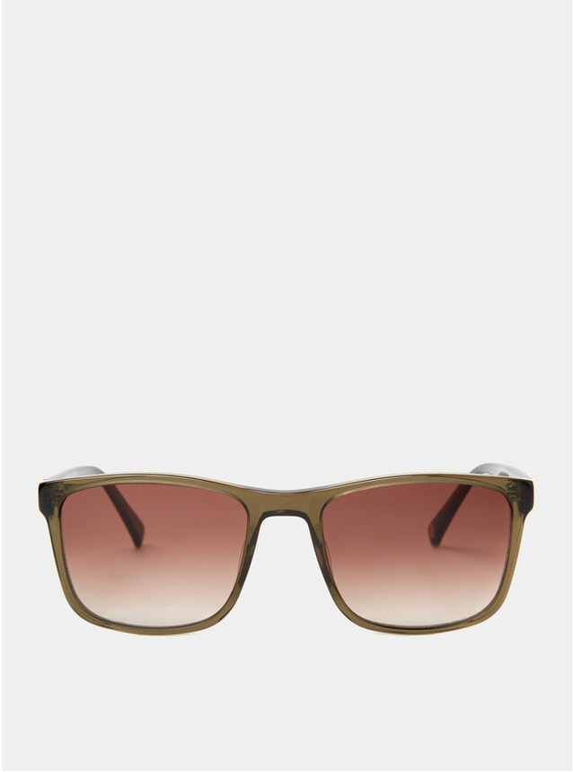 Olive Crystal Matti Sunglasses