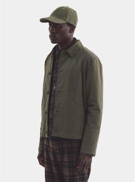 Olive Groundhog Jacket
