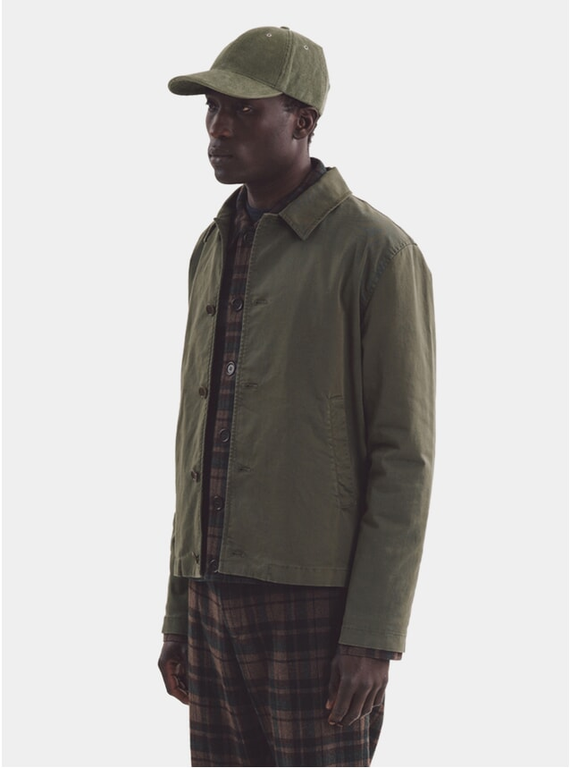 Olive Groundhog Jacket