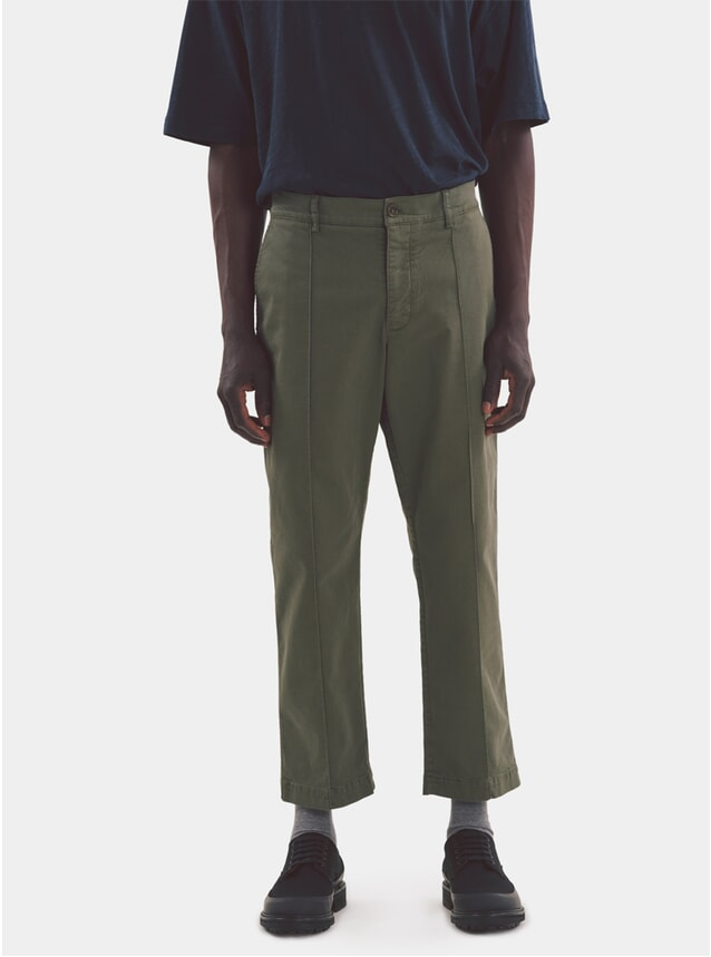 Olive Hand Me Down Trouser