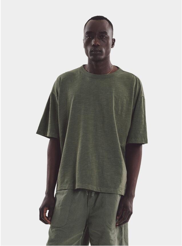 Olive Triple XL Oversize T Shirt