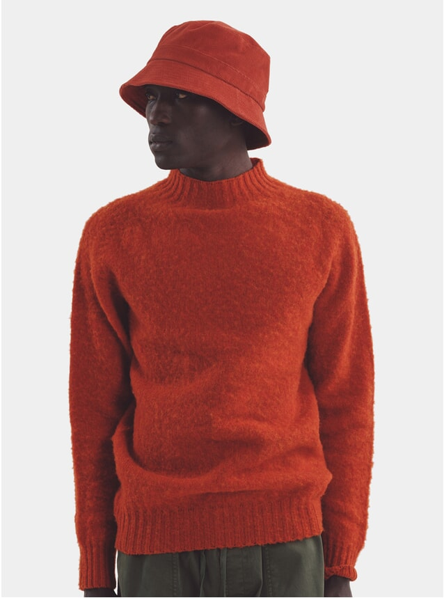 Rust Montand Turtle Neck