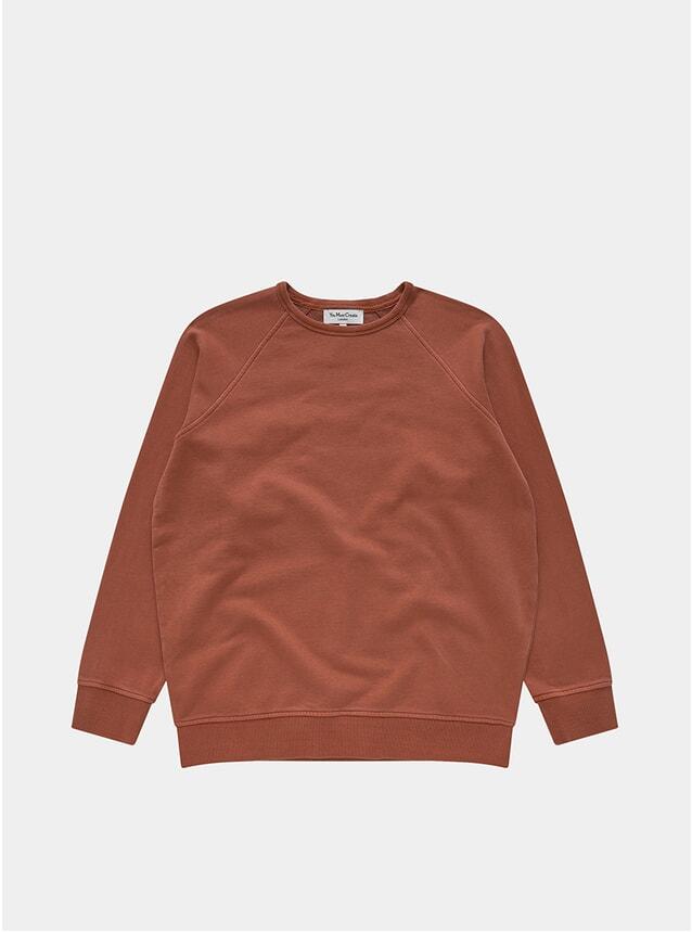 Rust Raglan Sweatshirt