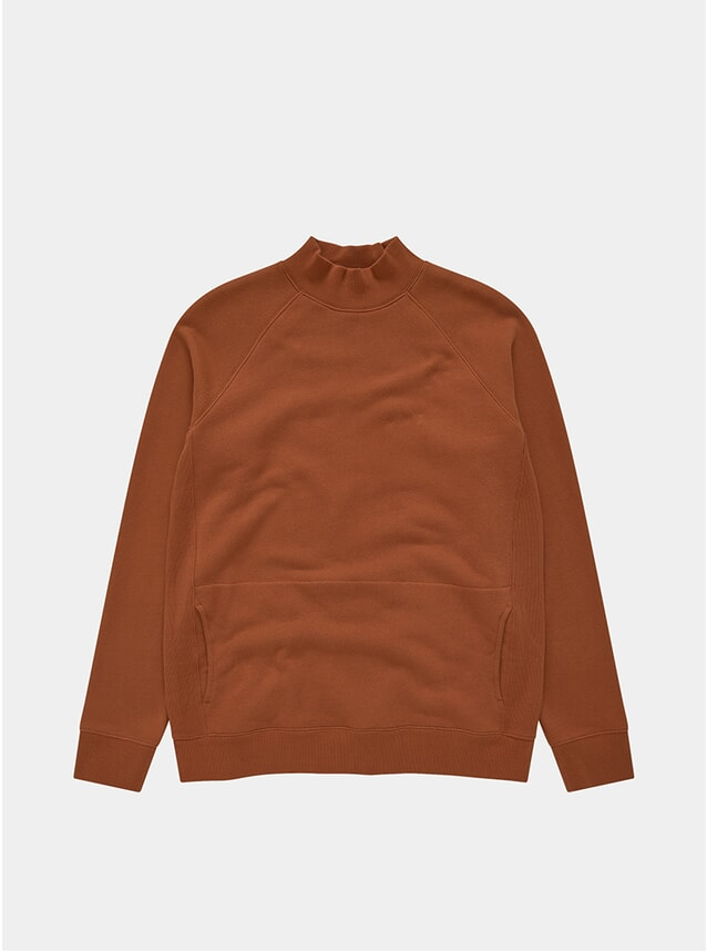 Rust Touche Pocket Sweatshirt