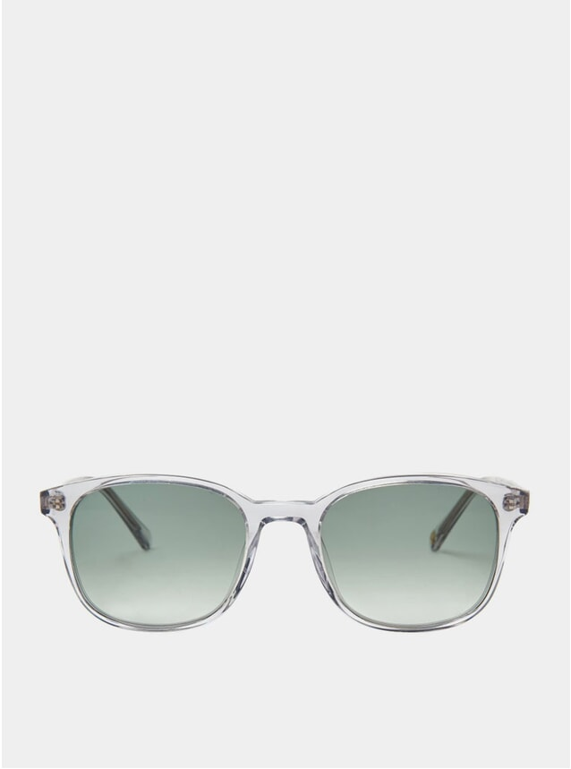 Smoke Crystal Hakon Sunglasses