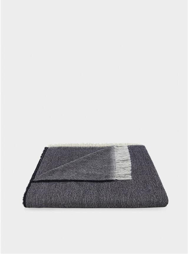 Charcoal Wool Throw