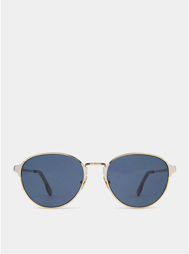 Gold / Blue Arango Sunglasses