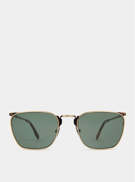 Gold / Green Libero Sunglasses
