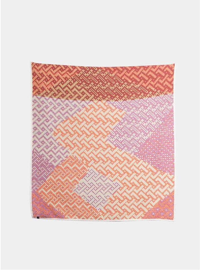 Unafraid Cotton Throw by Mark Barrow & Sarah Parke