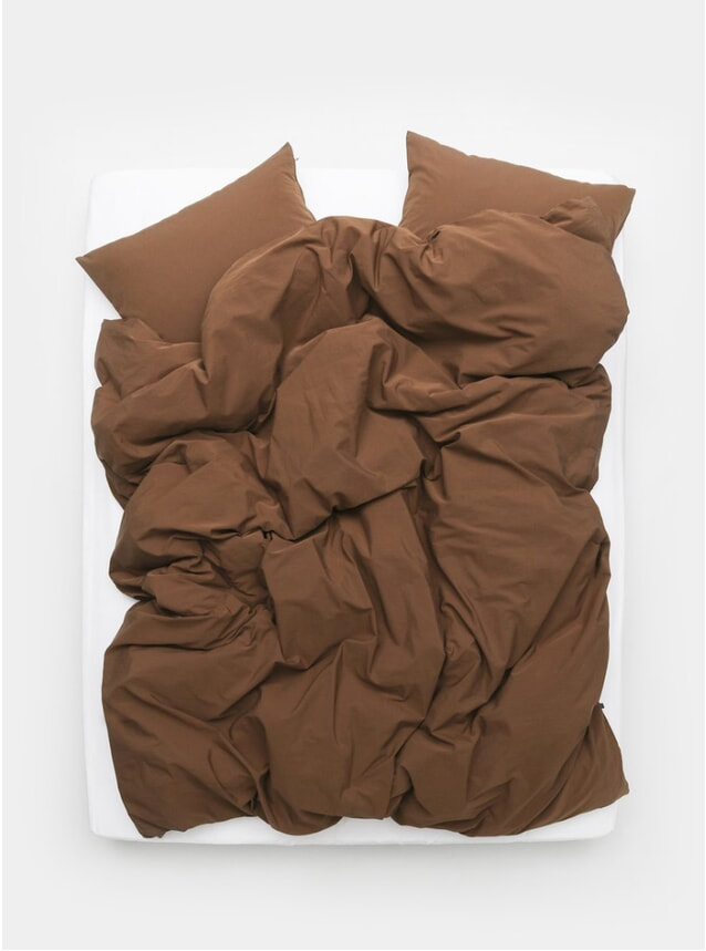 Rust Brown Vintage Egyptian Cotton Bedding