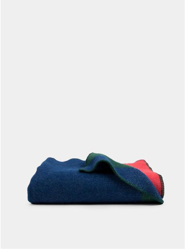 Bauhaused 1 Wool Blanket by Michele Rondelli & Sophie Probst