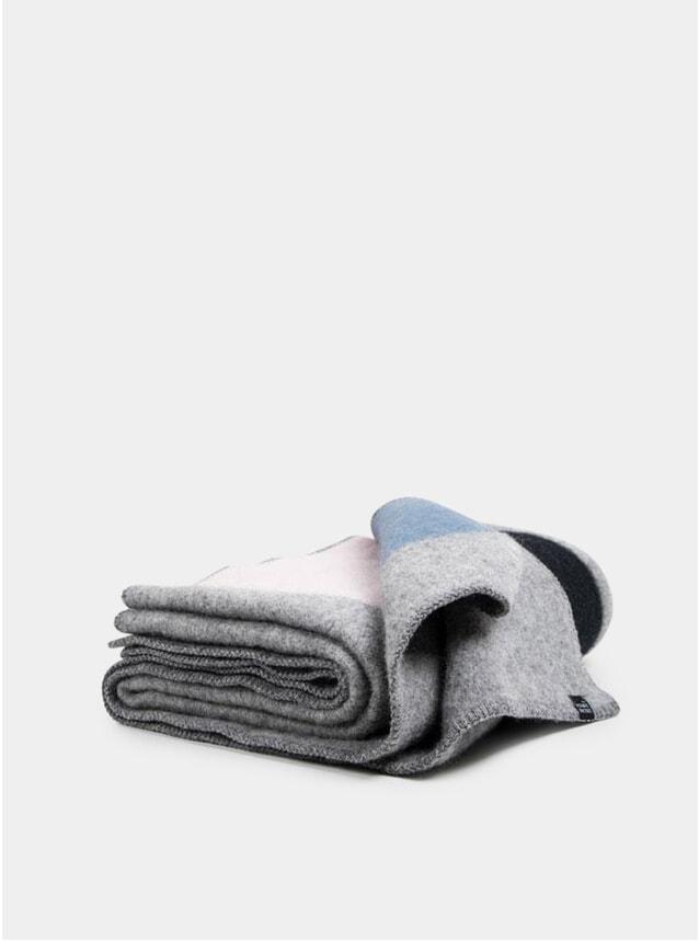 The Pedestrians 1 Wool Blanket by Michele Rondelli