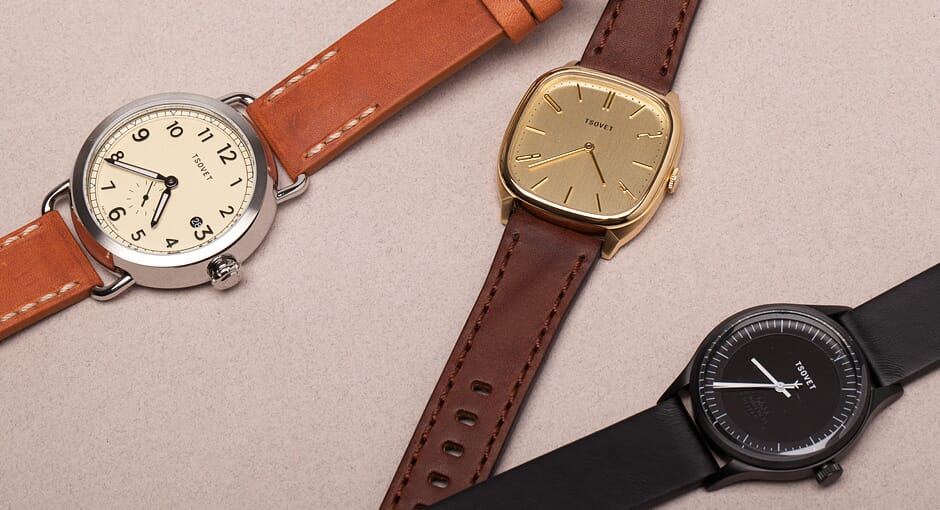 Tsovet Watches New Collection
