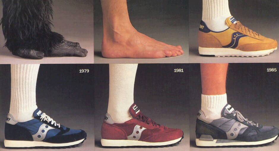 A Brief History of Saucony Sneakers