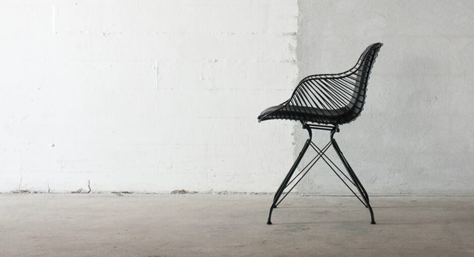 The Wire Saddle Chair by Overgaard & Dyrman