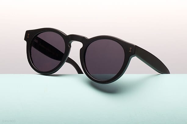 ILLESTEVA-Leonard-Matt-Black-Sunglasses