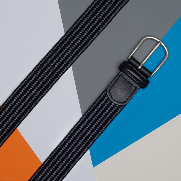Opumo-ANDERSONS-BELTS-Navy-Elasticated-Woven-Leather-Belt2