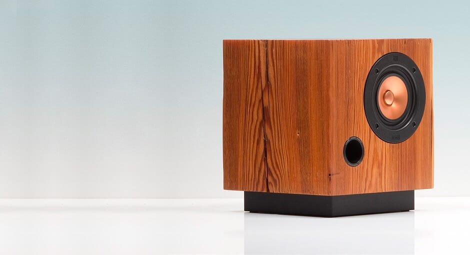 Fern and Roby Cube Speakers