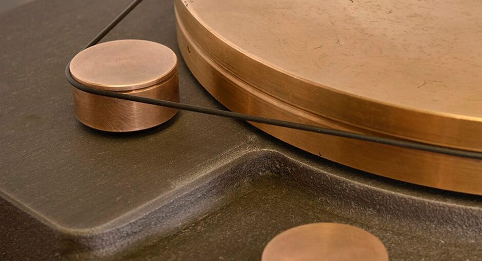 The Outstanding Cast Iron Turntable by Fern & Roby
