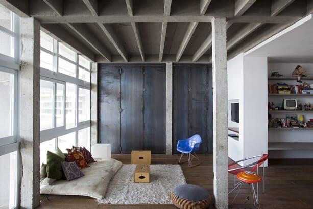 Refurbished-Oscar-Niemeyer-Apartment-Sao-Paulo-fran-parente-2