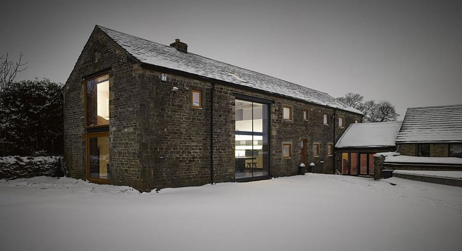 16th Century Barn Conversion by Snook Architects