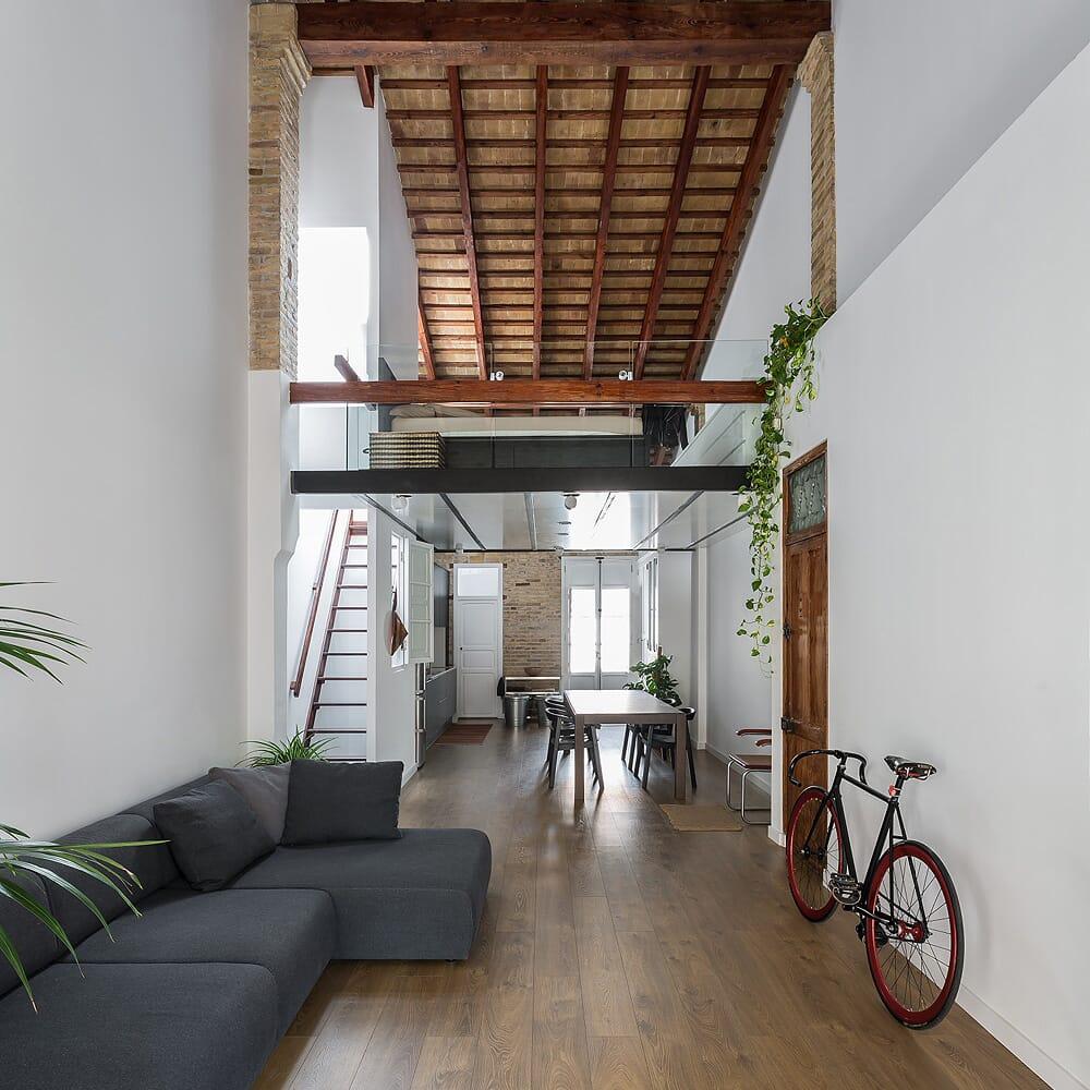 loft en el cabanyal ambau taller darquitectes