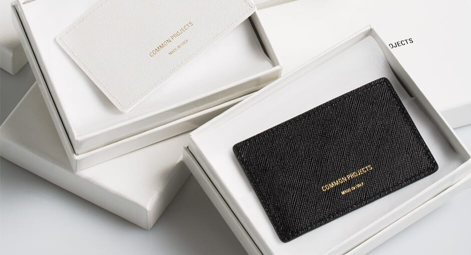 Introducing: Common Projects Accessories