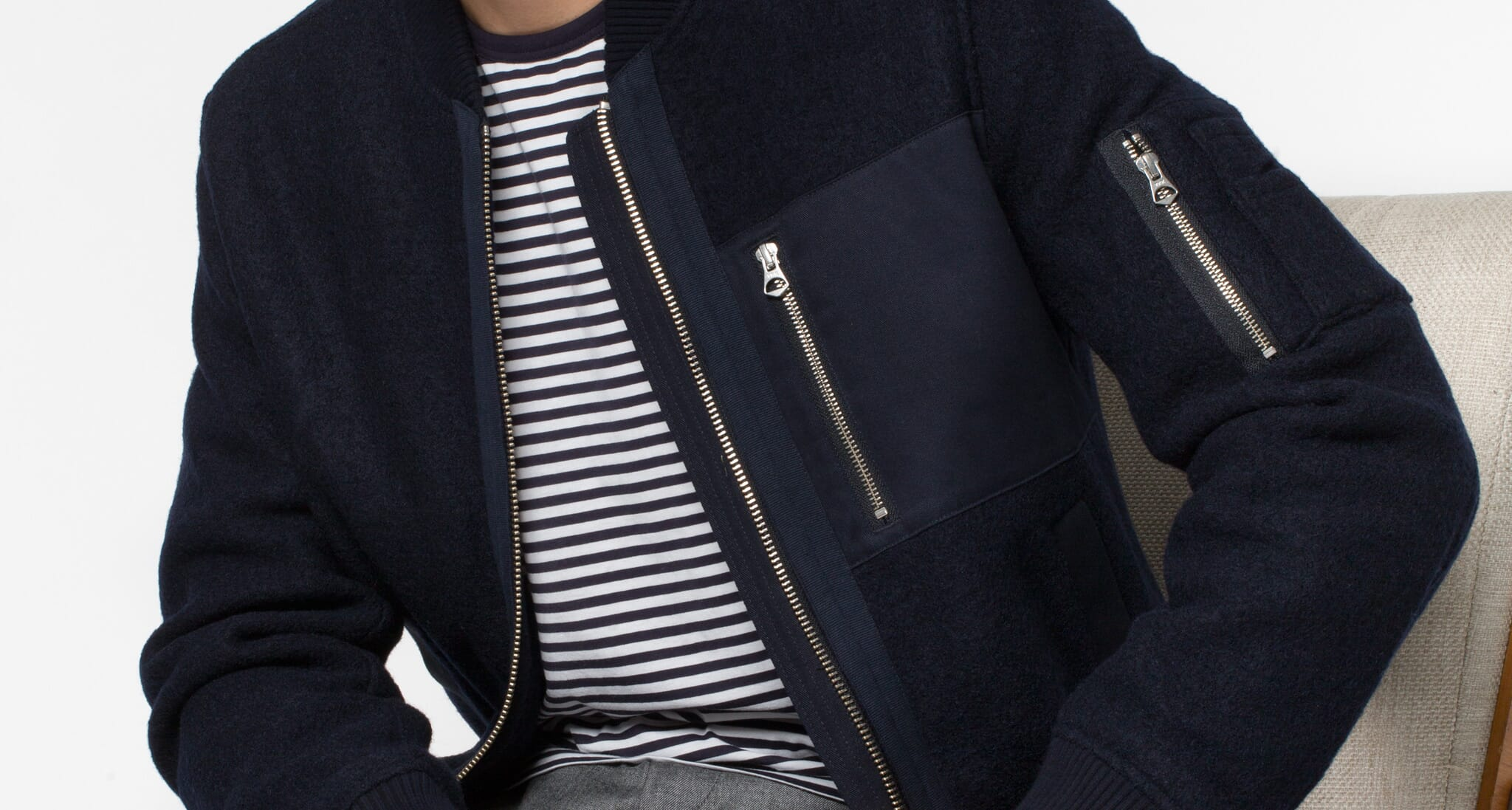 Why You Need: Gant Rugger Woolly Bomber Jacket