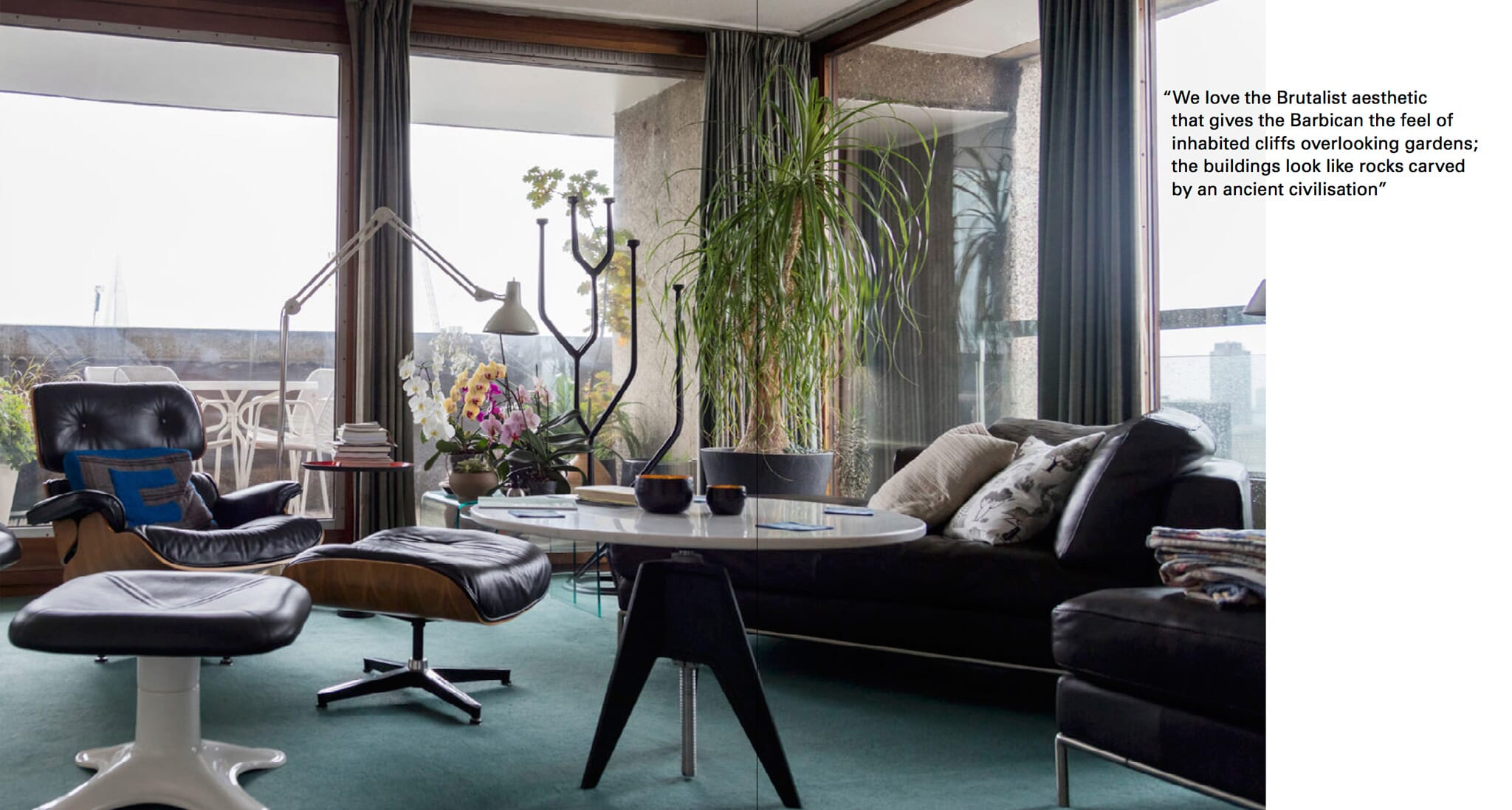 Inside London's Barbican Estate with Anton Rodriguez